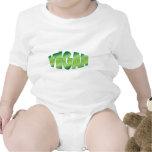 Regalo del vegano trajes de bebé