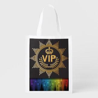 Regalo del VIP, favor, bolso de ultramarinos - SRF Bolsas Reutilizables