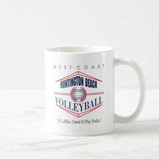 Regalo del voleibol de Huntington Beach Taza