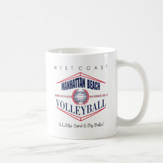 Regalo del voleibol de Manhattan Beach Tazas
