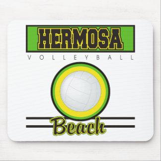 Regalo del voleibol de playa de Hermosa Alfombrilla De Raton
