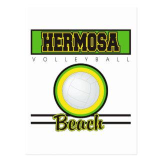 Regalo del voleibol de playa de Hermosa Tarjeta Postal