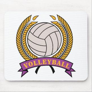 Regalo del voleibol mouse pads