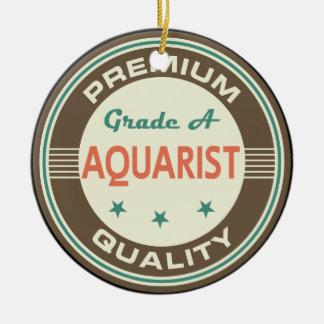 Regalo divertido de Aquarist (calidad superior) Ornamento De Navidad