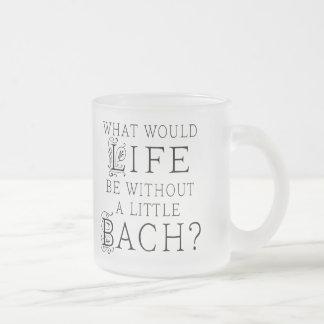 Regalo divertido de Bach Taza De Cristal