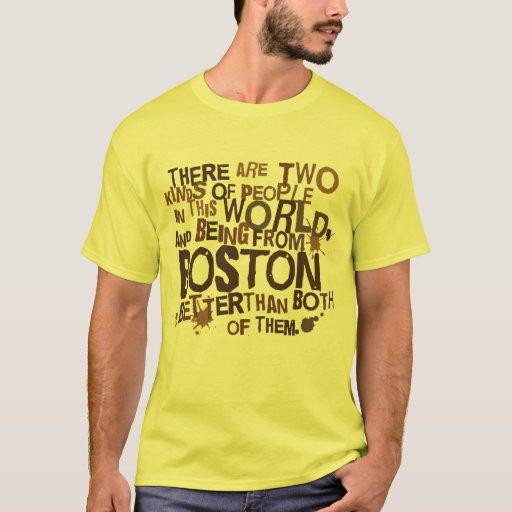 Regalo (divertido) de Boston Playera