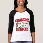 Regalo divertido de Chrismtas de la abuela Camisetas