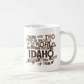 Regalo (divertido) de Idaho Taza Básica Blanca