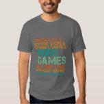Regalo divertido de la camiseta de los videojugado playera