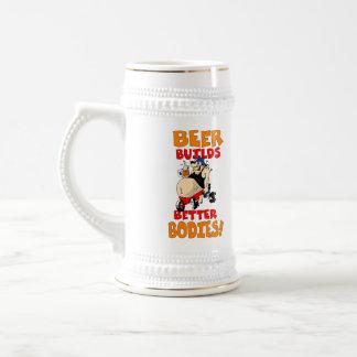 Regalo divertido de la cerveza tazas de café