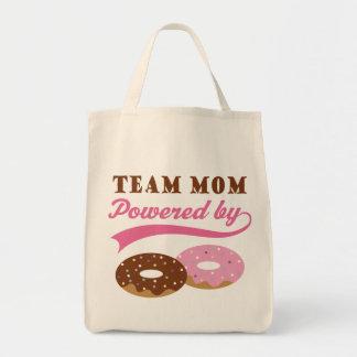 Regalo divertido de la mamá del equipo bolsa