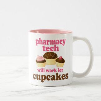 Regalo (divertido) de la tecnología de la farmacia taza de café de dos colores