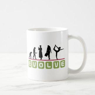 Regalo divertido de la yoga taza de café