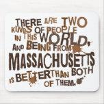 Regalo (divertido) de Massachusetts Alfombrilla De Raton