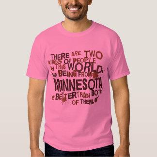 Regalo (divertido) de Minnesota Camisas