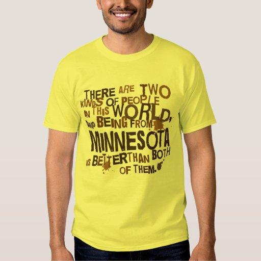 Regalo (divertido) de Minnesota Playeras