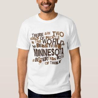 Regalo (divertido) de Minnesota Remeras
