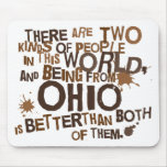 Regalo (divertido) de Ohio Tapete De Ratones