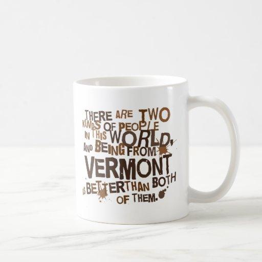 Regalo (divertido) de Vermont Taza Básica Blanca