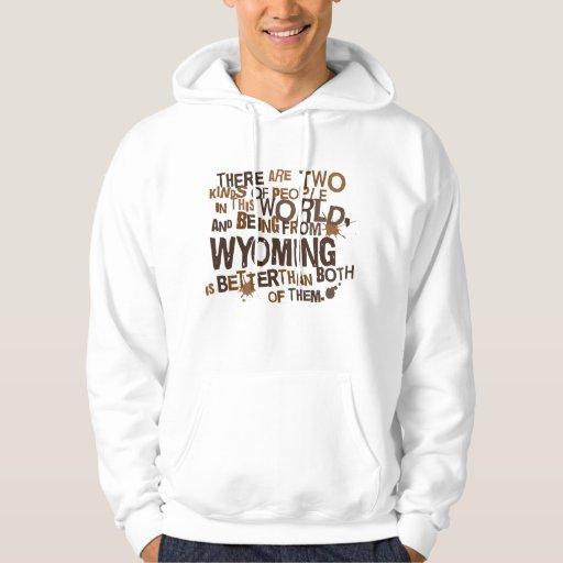 Regalo (divertido) de Wyoming Pulóver Con Capucha