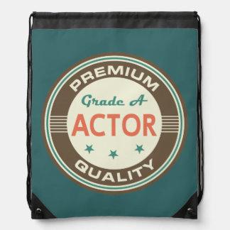 Regalo divertido del actor (calidad superior) mochilas