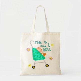 Regalo divertido del bebé bolsa tela barata