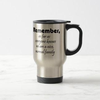 Regalo divertido del chiste de los coffeecups de taza de viaje