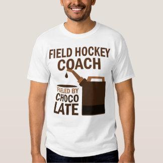 Regalo (divertido) del coche de hockey hierba remera