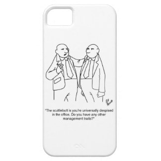 ¡Regalo divertido del dibujo animado de la gestión iPhone 5 Carcasas