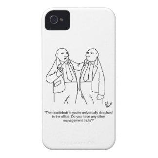 ¡Regalo divertido del dibujo animado de la gestión Case-Mate iPhone 4 Cárcasas
