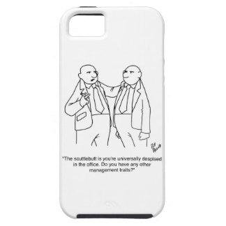 ¡Regalo divertido del dibujo animado de la gestión iPhone 5 Cárcasa