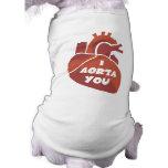 Regalo divertido del el día de San Valentín Camisetas De Perrito