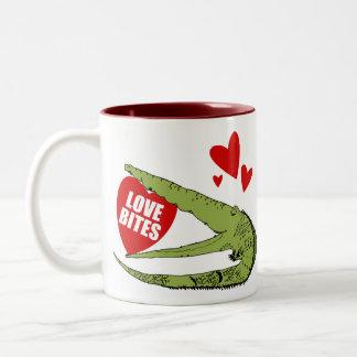 Regalo divertido del el día de San Valentín Taza