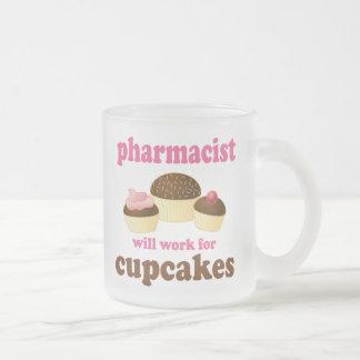 Regalo (divertido) del farmacéutico tazas de café