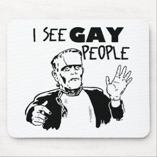 Regalo divertido del gay de Halloween Alfombrillas De Raton