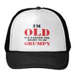 Regalo divertido del jubilado gorras de camionero