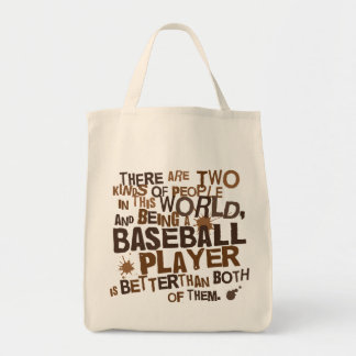 Regalo divertido del jugador de béisbol bolsas