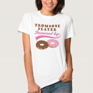 Regalo divertido del jugador de Trombone Playeras