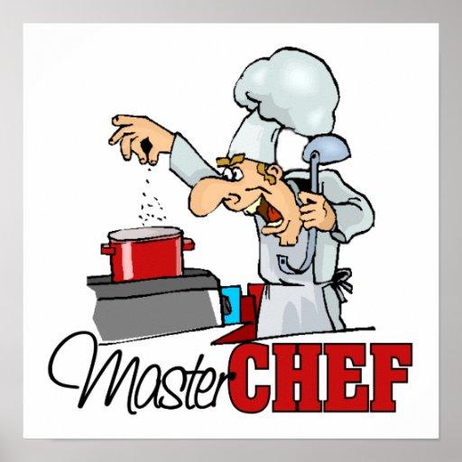 Regalo divertido del maestro cocinero impresiones