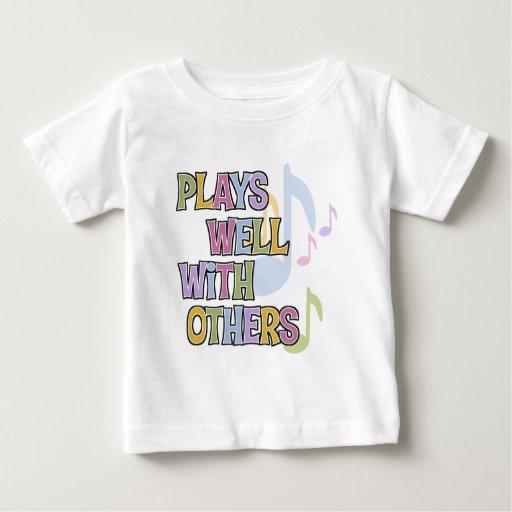 Regalo divertido del músico camisas