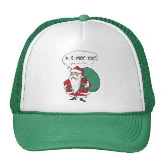 Regalo divertido del navidad gorras de camionero