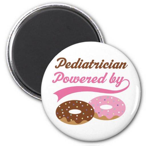 Regalo divertido del pediatra imanes para frigoríficos