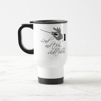 Regalo divertido del profesor de música taza de café