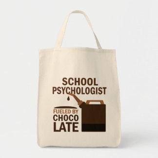 Regalo (divertido) del psicólogo de la escuela bolsa tela para la compra