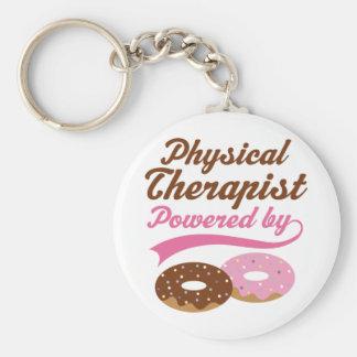 Regalo divertido del terapeuta físico llavero