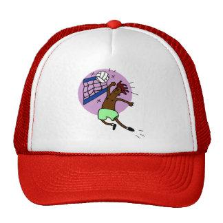 Regalo divertido del voleibol gorras