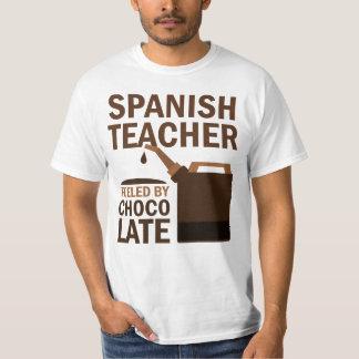 Regalo (divertido) español del profesor poleras