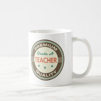 Regalo (divertido) superior del profesor de la taza básica blanca