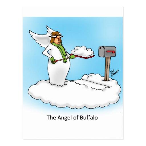 ¡Regalo divino del dibujo animado del ángel del hu Postal