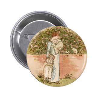 Regalo dulce del día de madre del vintage pin redondo 5 cm